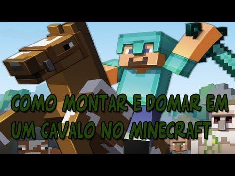 Como montar e domar um Cavalo no Minecraft Atualização 1.6.1