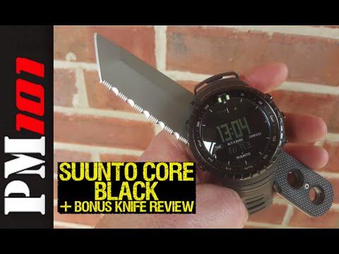 Suunto Core Black Watch +Bonus