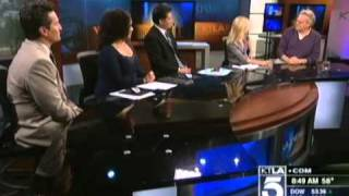Jerry Springer on KTLA Morning News (Feb 16th 2011)