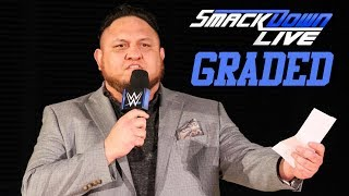 WWE SmackDown Live: GRADED (14 August)   SummerSlam 2018 Go-Home Show
