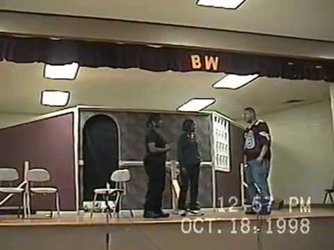 Blytheville High School Drama Backstage directed by Billy Ivey