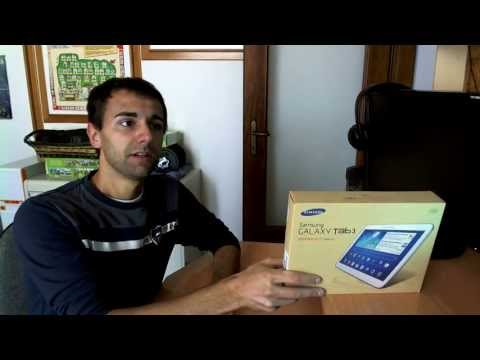 Unboxing & Prime Impressioni Tablet Samsung Galaxy Tab 3 10.1 3G+WiFi GT-P5200