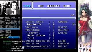 Final Fantasy VI speed run - 5h21:20 realtime (4h59 ingame)