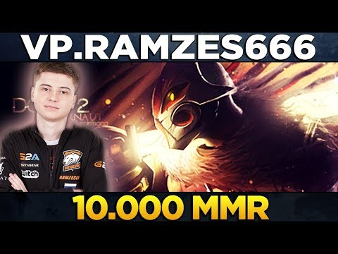 VP.RAMZES666 - WORLD'S FIRST CIS 10k MMR Player - Dota 2