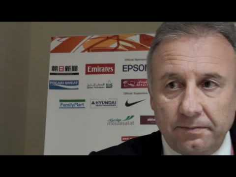 Post Match Interview: Alberto Zaccheroni (Japan)