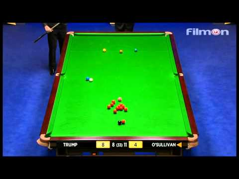 Ronnie O'Sullivan vs Judd Trump - WSC 2013 Semifinal Frame 17-21