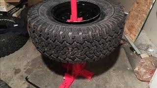 Harbor freight Tire Changer 33x12.50r15 BFGoodrich all terrains