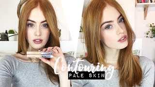 HOW TO CONTOUR PALE SKIN   NATURAL LOOK   MsRosieBea   AD