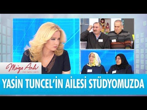 Yasin Tuncel'in ailesi stüdyomuzda! - Müge Anlı İle Tatlı Sert 17 Ocak 2018