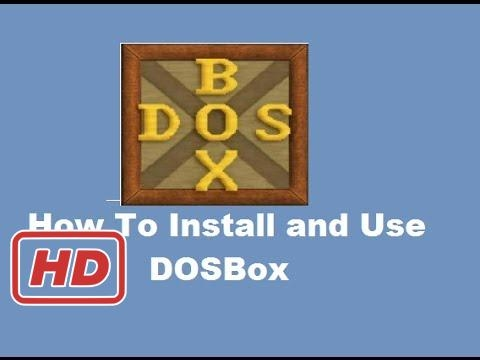 [Window Tutorial] How To Install and Use DOSBox (To Run DOS Programs on Windows)