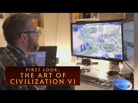 CIVILIZATION VI - First Look: The Art of Civilization VI