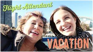 Flight Attendant Vacation in CHICAGO I International Flight Attendant Life I Vlog 62