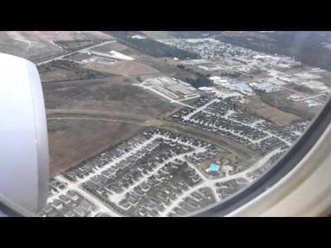 4K UHD IAH United Airlines 777-200 Landing Houston Intercontinental Airport Boeing