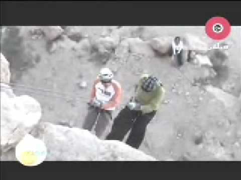 Rock climbing Egyptian family interview on OTV