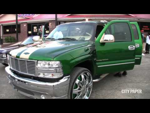 Donk Car Show Video