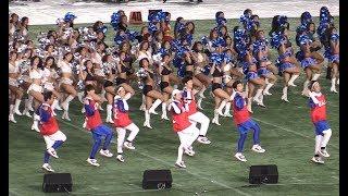 Da Pump 東京ドーム② U S A チア160人とコラボ 2018 12 17 X Bowlハーフタイムショー