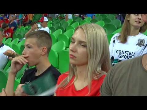 Впервые пошёл на футбол. Новый стадион ФК Краснодар