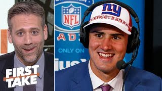 I want Daniel Jones to be great for the Giants – Max Kellerman | First Take