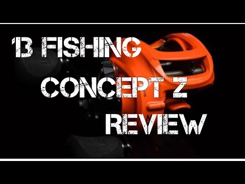 Complete Review of the 13 Fishing Concept Z Baitcasting Reel