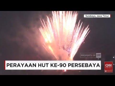Semarak Perayaan HUT ke-90 Persebaya Surabaya