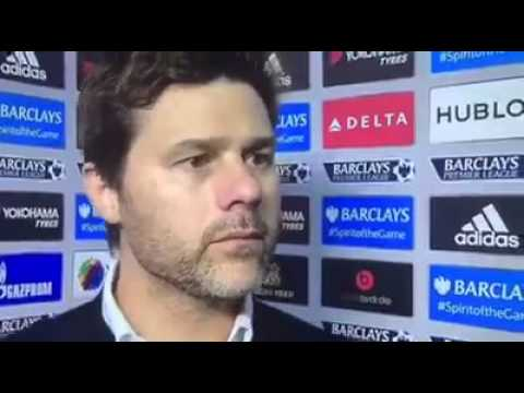mauricio pochettino interview after Chelsea game