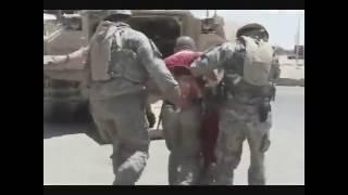 Amerika askerinin yaralanma anı