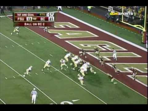 Florida State Seminoles vs Boston College Eagles Highlights - 10/3/2009 Video