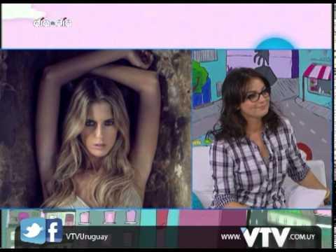 VTV: Johana Riva Miss Uruguay en Dia a Dia