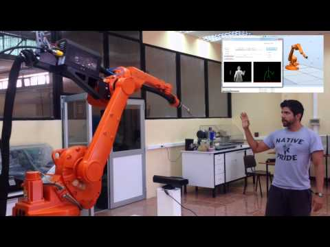 Kinect-Based Trajectory Teaching for Industrial Robots
