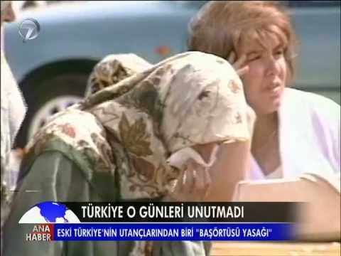 "Eski Türkiye'nin utançlarından biri: ""Başörtüsü yasağı"" تركيا القديمه وجريمة منع الحجاب"