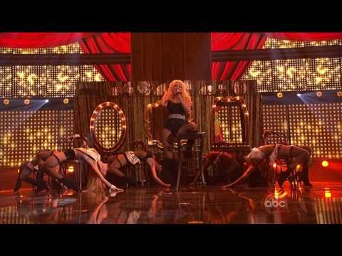 HD Christina Aguilera - Express( Burlesque)  AMA 2010 HD