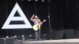 30 Seconds to Mars Video - 30 SECONDS TO MARS - R-evolve+Hurricane+Attack+Bad Romance - POLAND, RYBNIK 22.06.2014