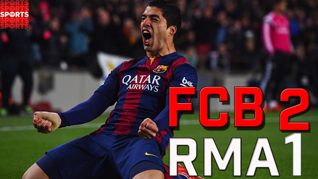 Suarez Barcelona Clasico Barcelona el Clasico 2015
