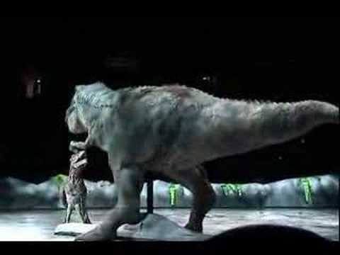 Walking With Dinosaurs: LIVE  T-Rex