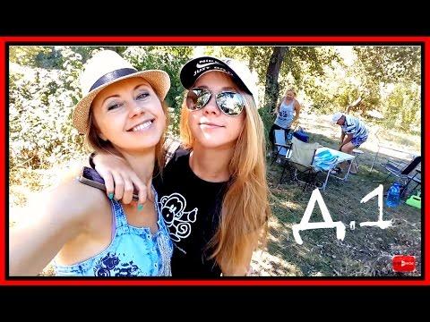 Vlog с Машей д.1: Выезд на природу||Повредила колено||собираем чемодан в колледж