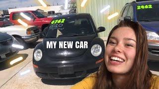 CAR SHOPPING + BUYING A CAR!!
