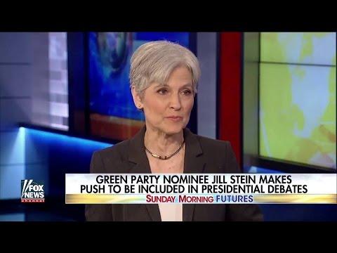Jill Stein Gets Hack Questions On Fox News
