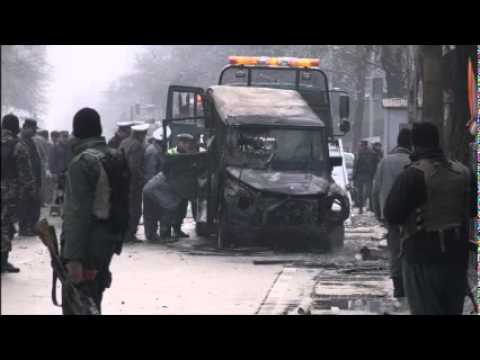 Suicide attack on foreign convoy kills Turkish soldier in Kabul