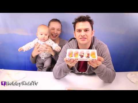Jelly Bean Taste Test! Fab 5 Jelly Belly Candy Flavors HobbyKidsTV