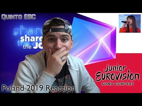 Wiktoria Gabor - Superhero Reaction - Junior Eurovision 2019 (Poland) - Quinto ESC