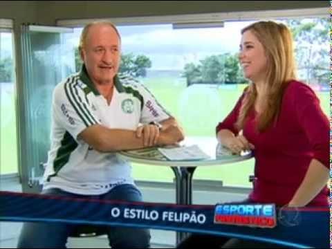 Entrevista com Luiz Felipe Scolari - Esporte Fantastico 02/04/2011