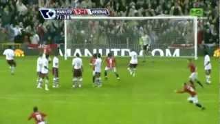 Owen Hargreaves Free Kick vs. Arsenal (2008)
