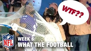 3 Worst Plays (Week 6) | WTF: What The Football?! | NFL Now
