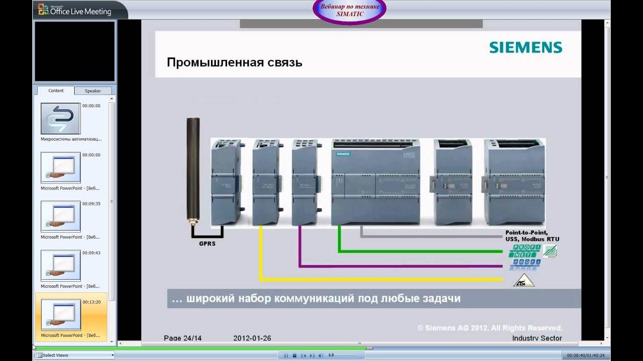 Вебинары по технике автоматизации IA&DT на территории СНГ Официальный с