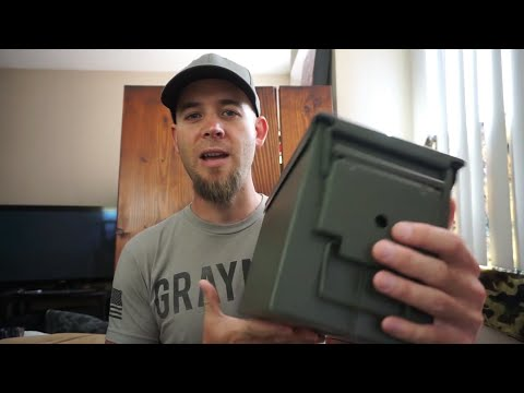 REVIEW: Harbor Freight Ammo Cans! Any Good?