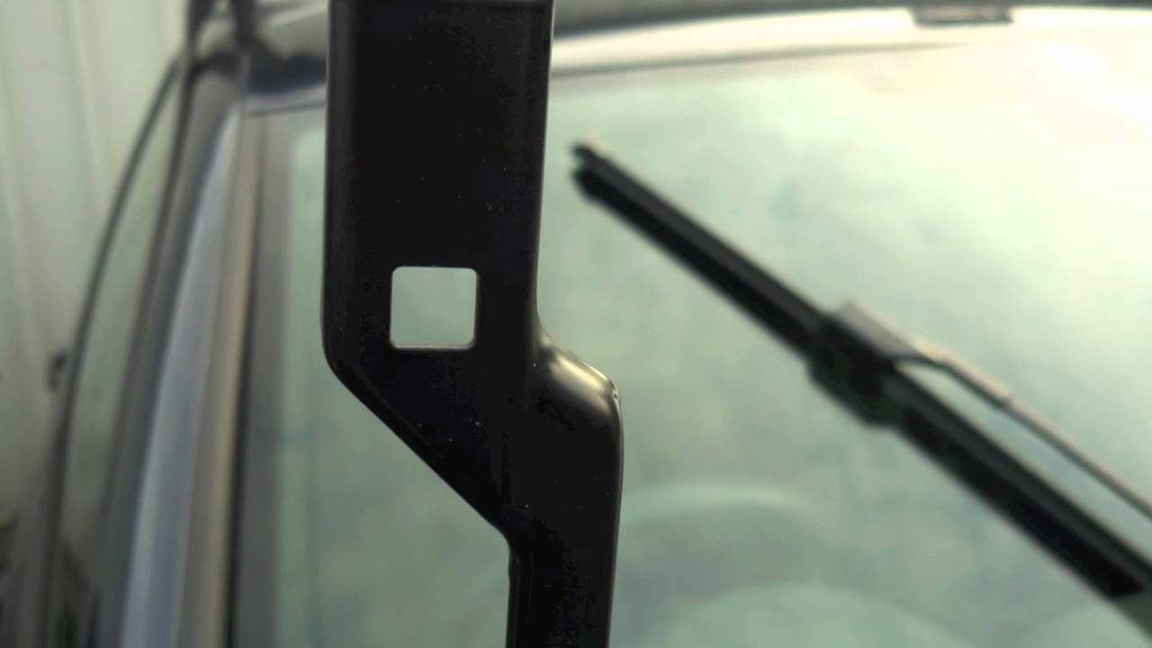 """Replace your VW wiper blades - """"How to"""" - YouTube"""