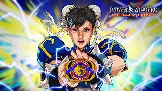 Chun-Li Morphs into Chun-Li Ranger | Official Moveset | Power Rangers: Legacy Wars
