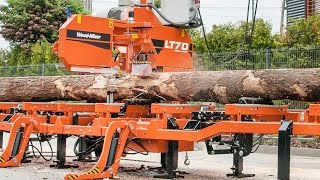Wood-Mizer LT70 high production, stationary sawmill – Wood-Mizer Europe