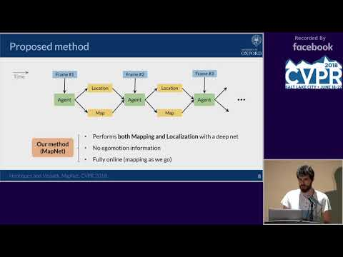 CVPR18: Session 3-2B:  Machine Learning for Computer Vision IV