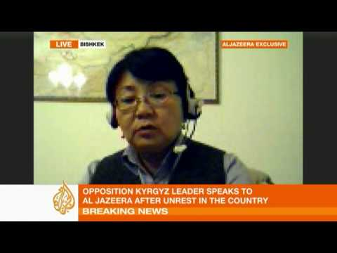 Roza Otunbayeva talks to Al Jazeera